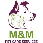 M&M pet care services logo